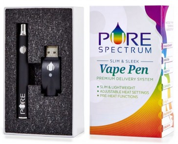 Pure spectrum Vape Cartridge battery