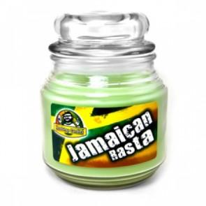 Headshop Candle Jamaican Rasta
