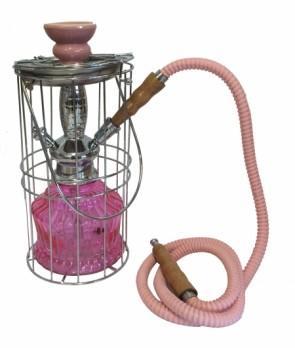 Cage Lighter Shisha Pink
