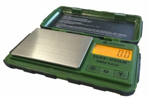 Tuff Weigh Digital Scale .01g Green