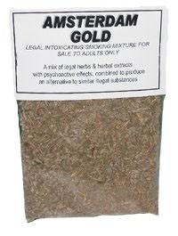 Amsterdam Gold Herbal Tobacco Alternative