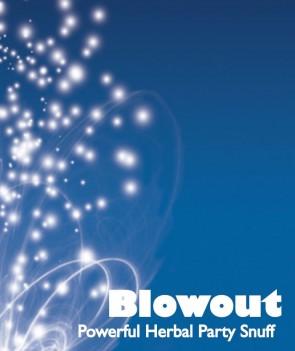 Blow out powder