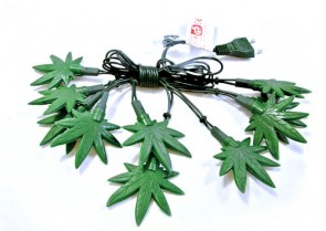 Cannabis Fairy Lights