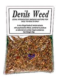 Devil's Weed Herbal Tobacco Alternative