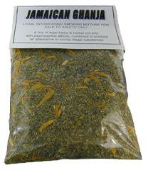 Jamaican Ghanja Herbal Tobacco Alternative