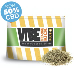 *NEW* VIBE - ORANGE KICK+ - 50% CBD & CBG