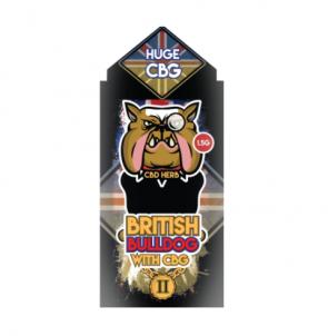 NEW BRITISH BULLDOG 2 - 1.5G - 3G 50% CBD / CBG