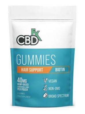 CBD +FX HEMP GUMMIES HAIR SUPPORT BIOTIN