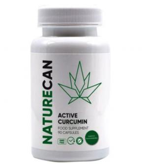 NATURECAN ACTIVE CURCUMIN FOOD SUPPLEMENT