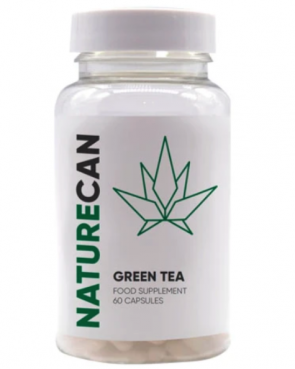 NATURECAN GREEN TEA FOOD SUPPLEMENT 60 CAPSULES