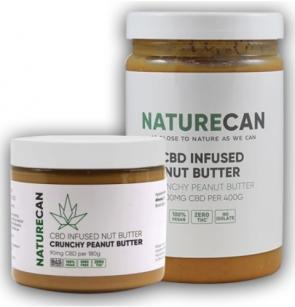 NATURECAN CBD INFUSED NUT BUTTER SPREADS