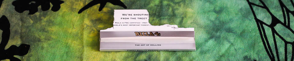 Ripped Rizla Packet